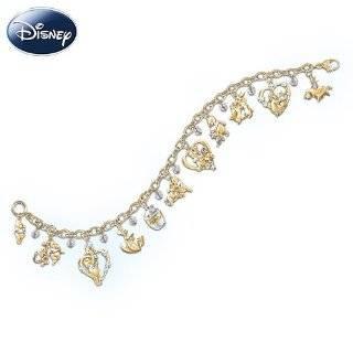Disney Winnie The Pooh & Friends Charm Bracelet by The Bradford