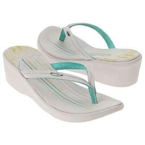 NEW Oakley Grey Compensate Womens Wedge Sandals Sz 11