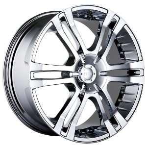 22 Inch 22x9.5 MPW wheels STYLE MP207 Chrome wheels rims