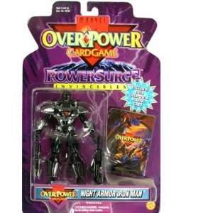 Night Armor Iron Man Marvel Overpower Power Surge Action
