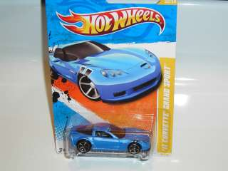 2011 NEW MODELS #32 `11 CORVETTE GRAND SPORT  BLUE