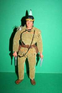 Vintage Lone Ranger Figure doll Gabriel TONTO in a good condition