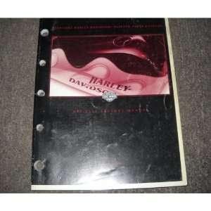 1997 2002 Harley Davidson Painted Parts Catalog harley davison Books