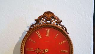 Antique unique large wall clock   HERMLE