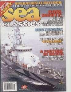 US Navy Sea Classics Jan 2000 Karl Donitz USS Turner