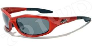 New Mens Xloop POLARIZED Fishing Cycle Sunglasses Black Blue Red