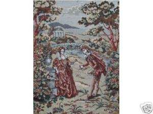 Tapestry Man Lady Romantic Scene   WEDDING DECOR IDEA
