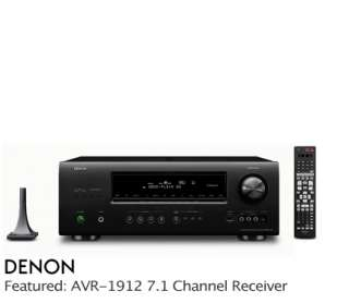 Denon AVR 891 7 1 CH HDMI 6 1 3D Receiver with Audyssey Mic