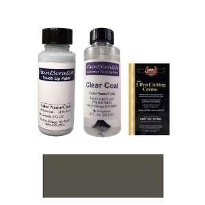 com 2 Oz. Black (wheel matt) Paint Bottle Kit for 2012 Dodge Charger