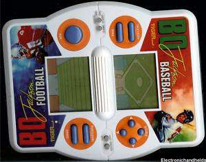 TIGER BO JACKSON BASEBALL & FOOTBALL HANDHELD LCD GAME