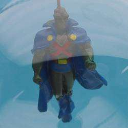 This auction is for a Martian Man Hunter hand blown glass ornament as