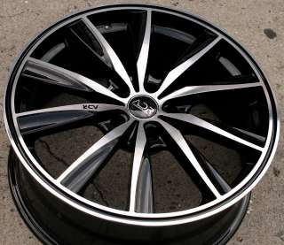 ADR INSPIRE 19 BLACK RIMS WHEELS ACURA 3.5 RL 96 04 5x114.3 / 19 X 8