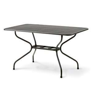 Kettler QH682322 Rectangular Mesh Top Outdoor Dining Table