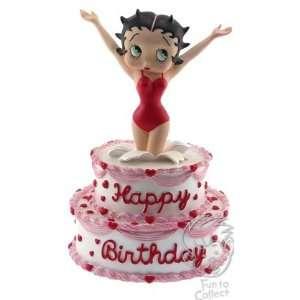 San Francisco Music Box Company Betty Boop Happy Birthday Figurine