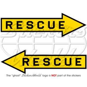 RESCUE Air Force Aircraft Arrow RAF Vinyl Sticker Decal