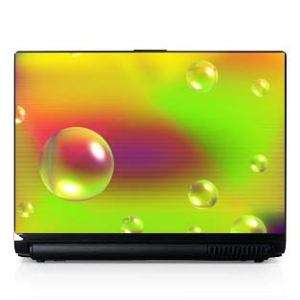 Laptop Computer Skin Dell PC HP Sony Bubbles #003