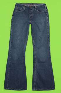 Silver sz 30 x 31 Flare Womens Blue Jeans Denim Pants FK67