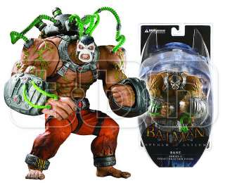 BANE figure BATMAN ARKHAM ASYLUM action CITY dark knight DC DIRECT