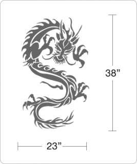 Dragon Tribal Art   Wall Decals Sticker Vinyl Tatoo Art