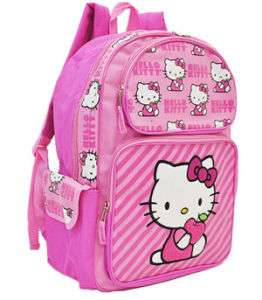 Sanrio Hello Kitty Apple Themed School Backpack