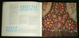 BOOK Polish Folk Embroidery ethnic costume POLAND silk