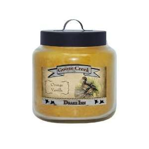 Goose Creek 26 Ounce Orange Vanilla Lodge Series Jar Candle
