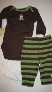 CARTERS Boy 3 months DADDYS BEST FRIEND Outfit NEW