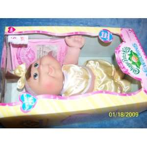 Baby Girl Chelsea Felicity Born April 12th Brown Hair Green Eyes Toys