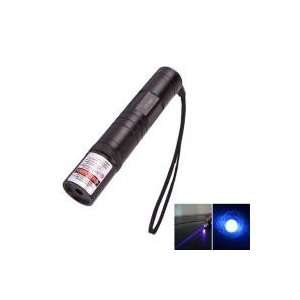 850 Flashlight Style Blue violet Laser Pointer Black