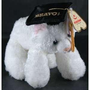Fancy Pals Pet Graduation Bravo White Kitty Cat