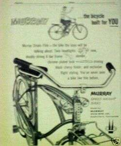 1958 Murray (SPEED WEIGHT) Boys Bicycles,Bikes Print AD