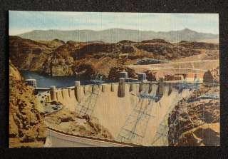 1940s Hoover Dam Union Pacific Railroad Boulder City NV Clark Co