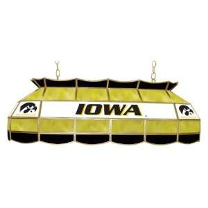 ADG Source Iowa Hawkeyes Stained Glass Pool Table Light