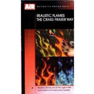 Airbrush Action V9CF06 REALISTIC FLAMES CRAIG FRASER 7564