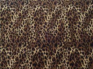 New Cheetah or Leopard Big Cat Skin Animal Print Large Wild Jungle