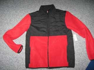 Old Navy Mens Polar Fleece/Nylon Jacket, NWT