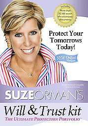 Suze Orman`s Will & Trust Kit