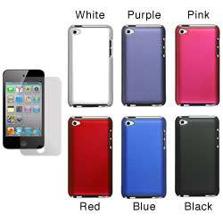 Premium Apple iPod Touch 4th Generation Rubberized Case with Screen