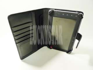 Wallet Leather Case for 7 Acer Iconia Tab A100 Black C21