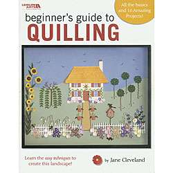 Leisure Arts Beginners Guide to Quilling Craft Book  Overstock