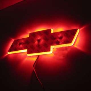 NEW LED Car Decal Logo Light Badge Lamp Emblem Sticker for Chevrolet