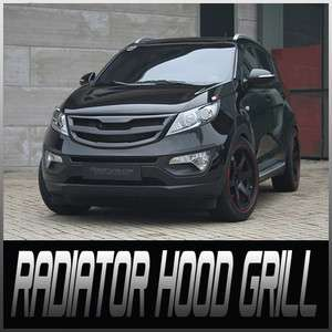 Front Roadruns New Radiator Hood Grill All Color PAINTED For 11 Kia