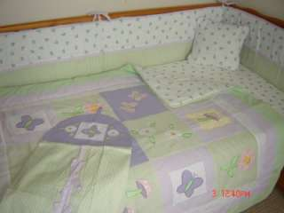 NEW 5pcs.baby cot bedding set & MUSICAL MOBILE/NURSERY