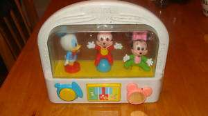 Mattel Disney Baby Toy Mickey Minnie & Donald 9 1/2