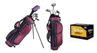 HOPE Junior Girls Golf Club Set w/ Bag + Balls 883813468720