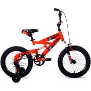 Jeep 16 Boys Full Suspension Bike