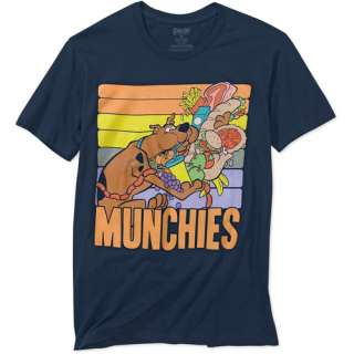 Big Mens Scooby Doo Munchies Short Sleeve Tee Mens Big & Tall