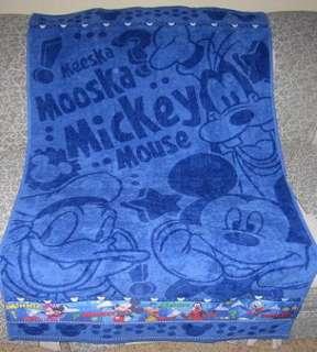Disney Mickey Mouse Donald Duck Goofy Bath Beach Towel NWT GIFT