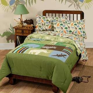 nEw SAFARI ANIMAL Disney Twin Bed COMFORTER BEDDING SET