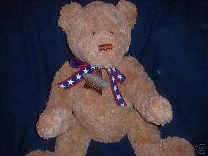 GUND WISH BEAR 2002 100TH ANNIVERSARY TEDDY BEAR